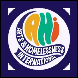 Arts and Homelessness International logo